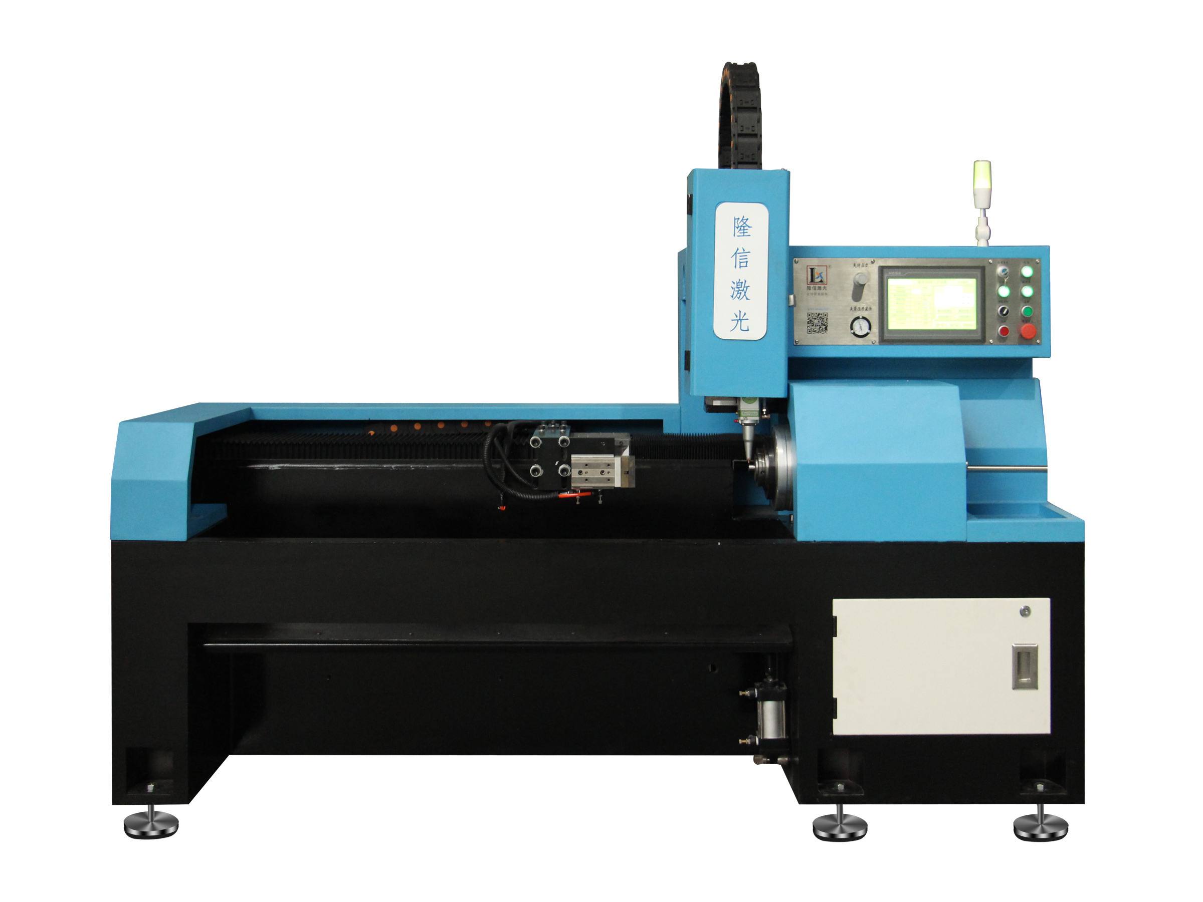 Fiber Laser Tube Cutting Machine For Oil Fill Tubes