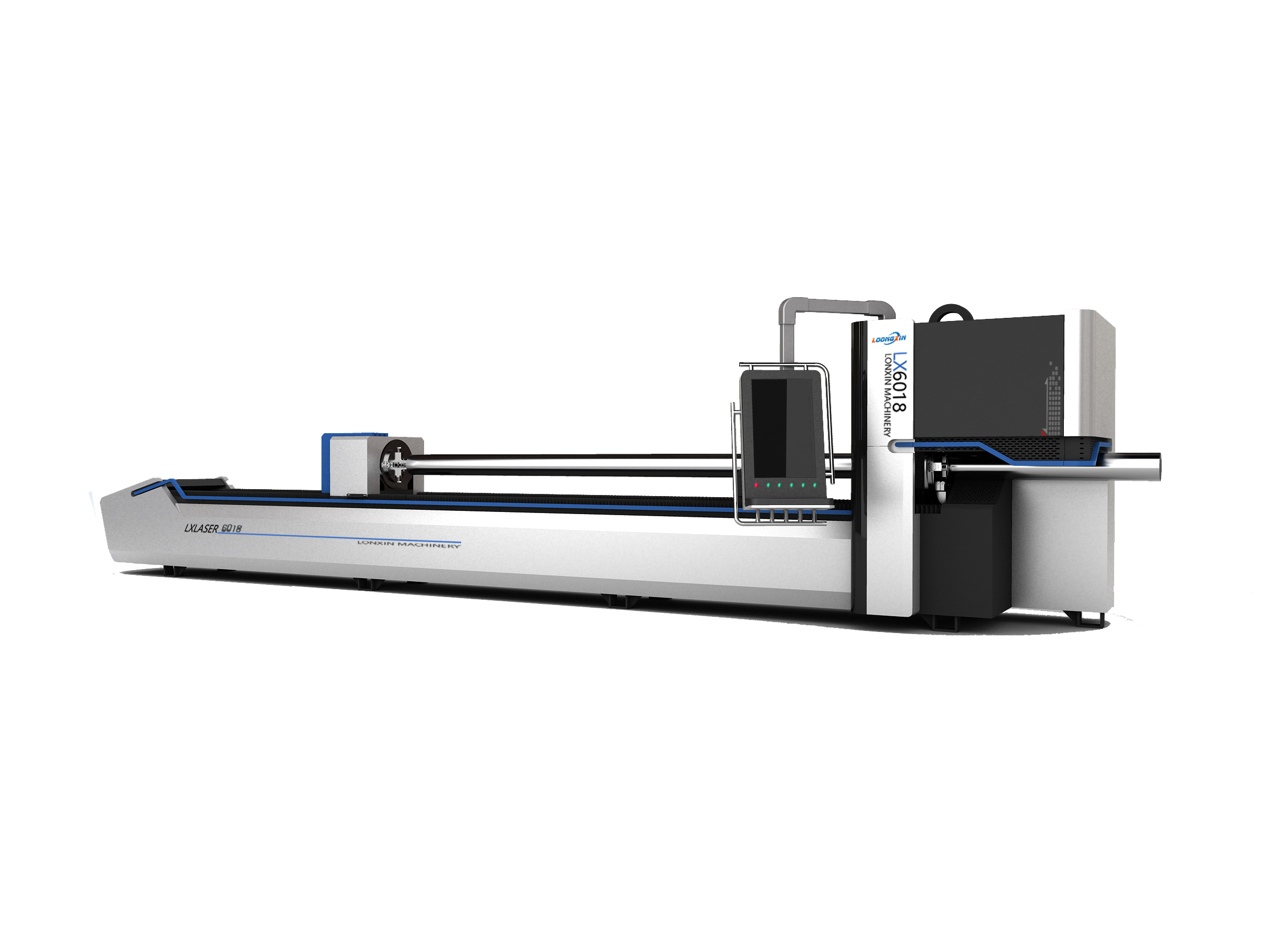 Automatic stainless steel Tube Fiber Laser Cutting Machine