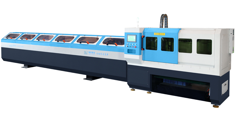 Fiber Laser Pipe Cutting Machine For Stainless Steel Water Pipes
