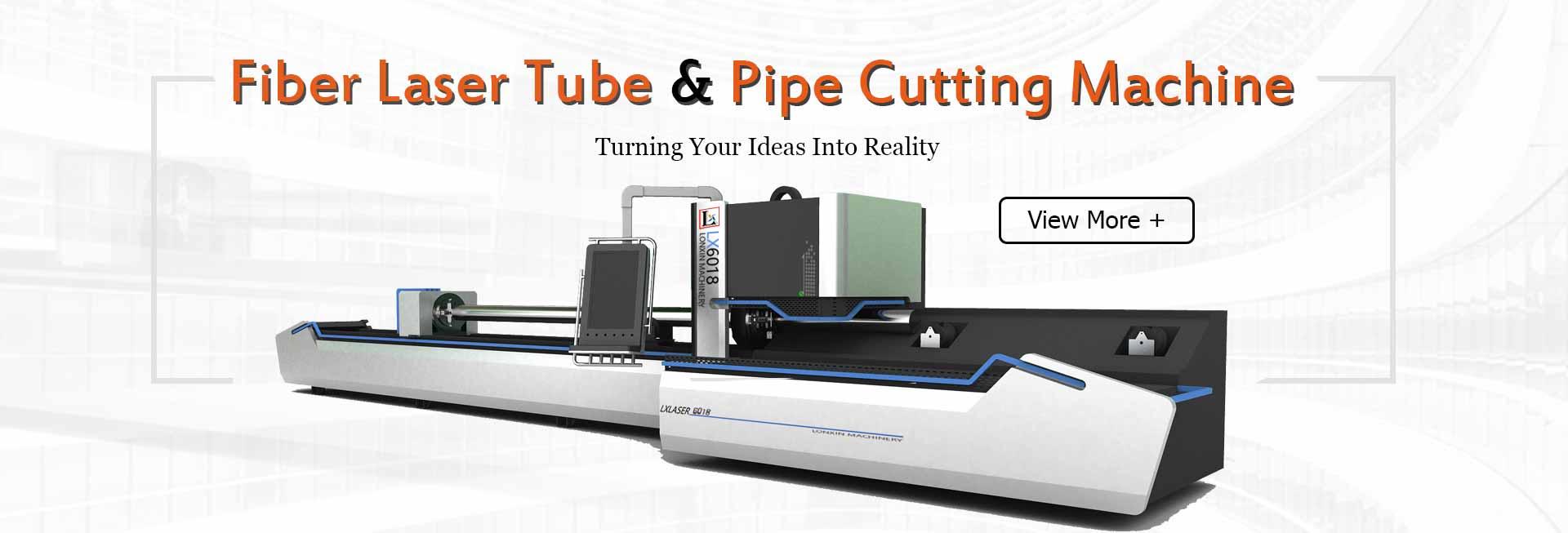 Fiber Laser Tube & Pipe Cutting Machine