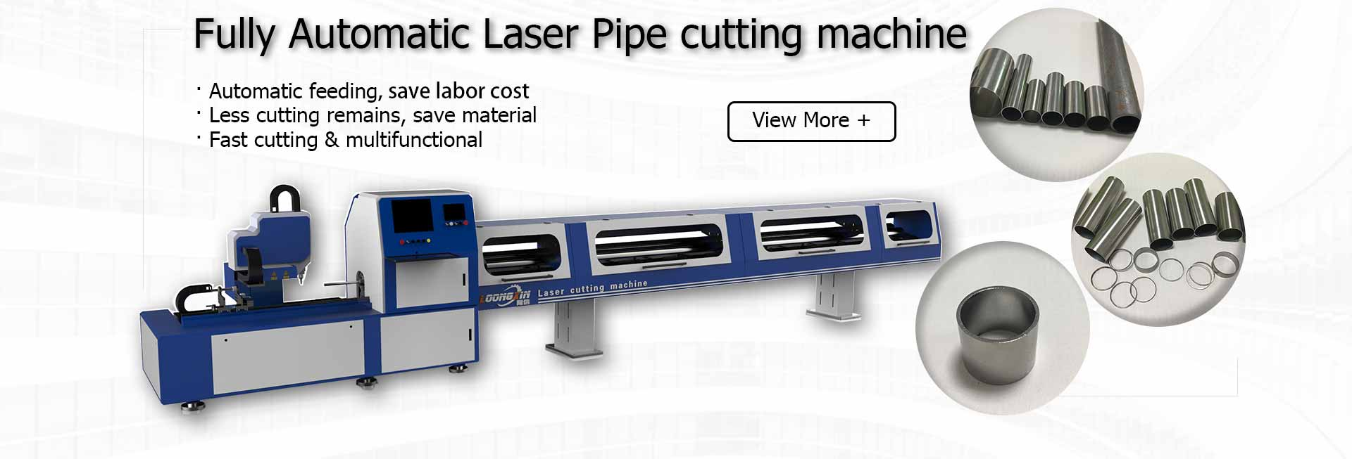 fully automatic laser pipe cutting machine