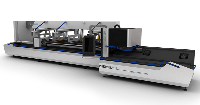 CNC Copper Tube Laser Cutting Machine