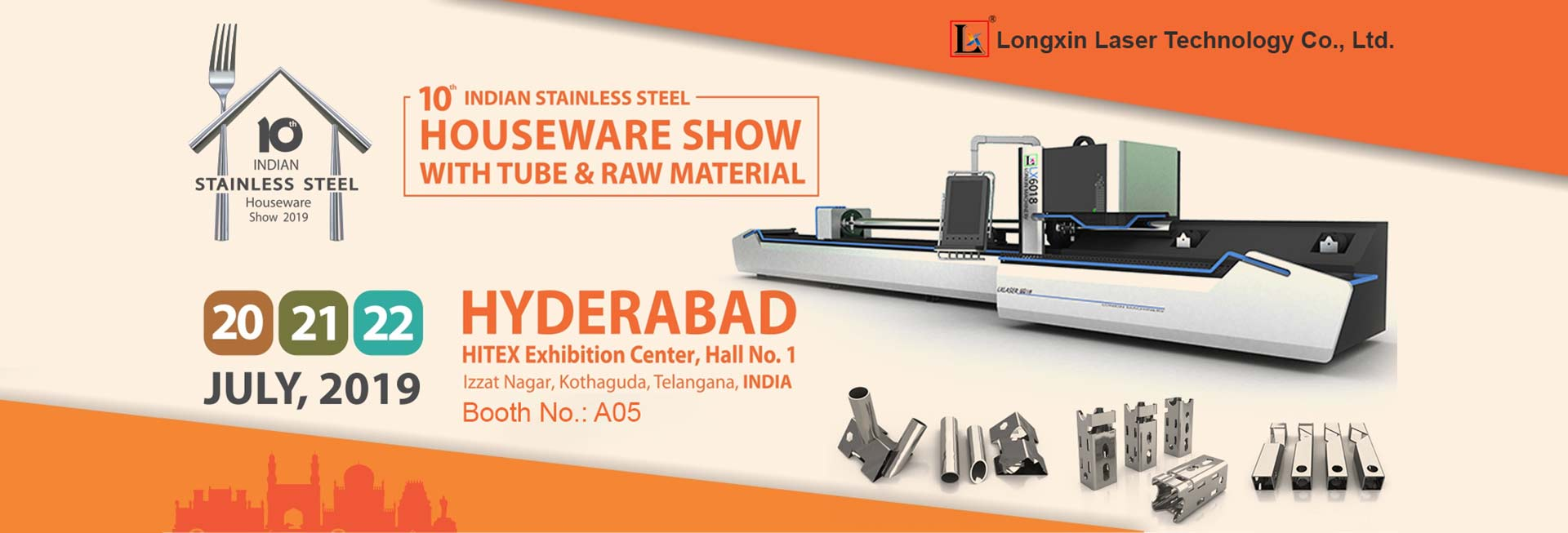 10th Indian Stainless Steel Housewares Show Hyderabad