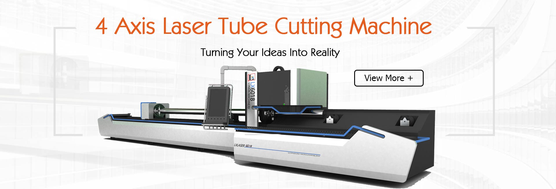 4 Axis Laser Tube Cutting Machine