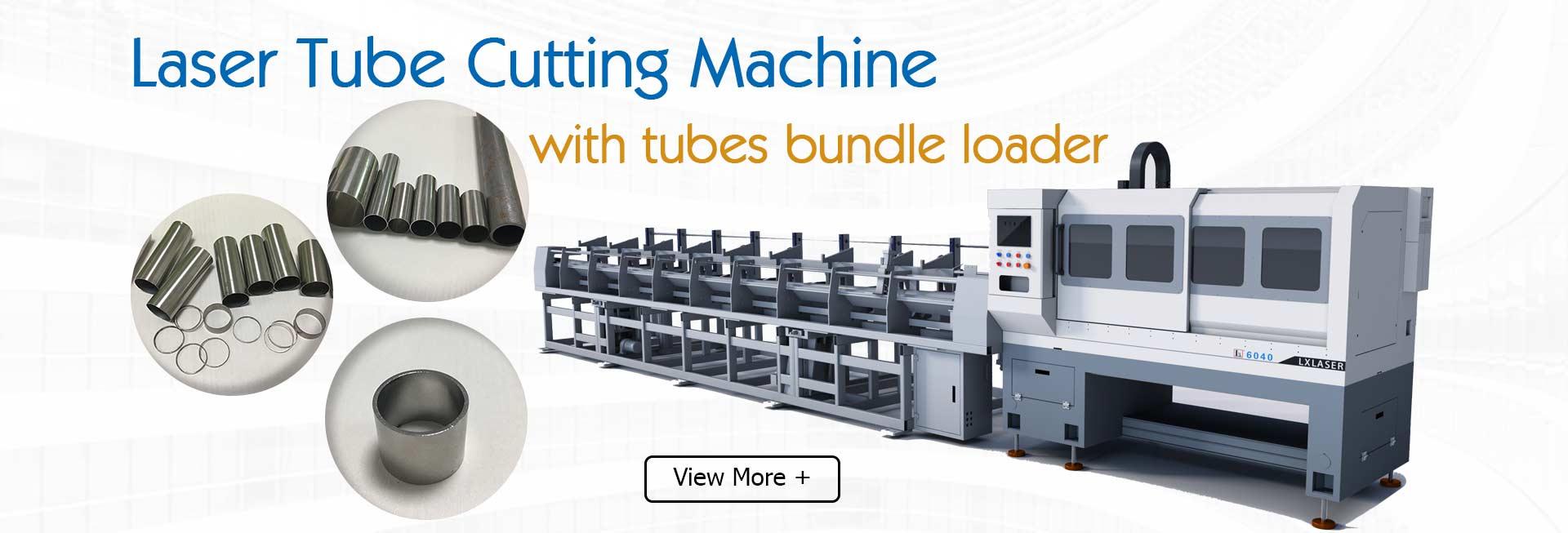 Automatic Bundle Loader Tube Laser Cutting Machine