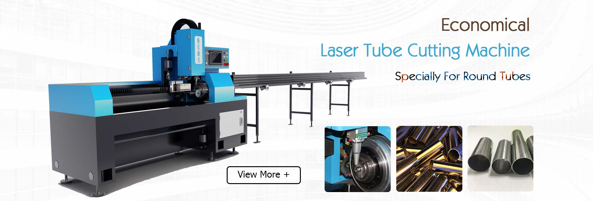 Economical Low Price SS 304 Tube Laser Cutting Machine
