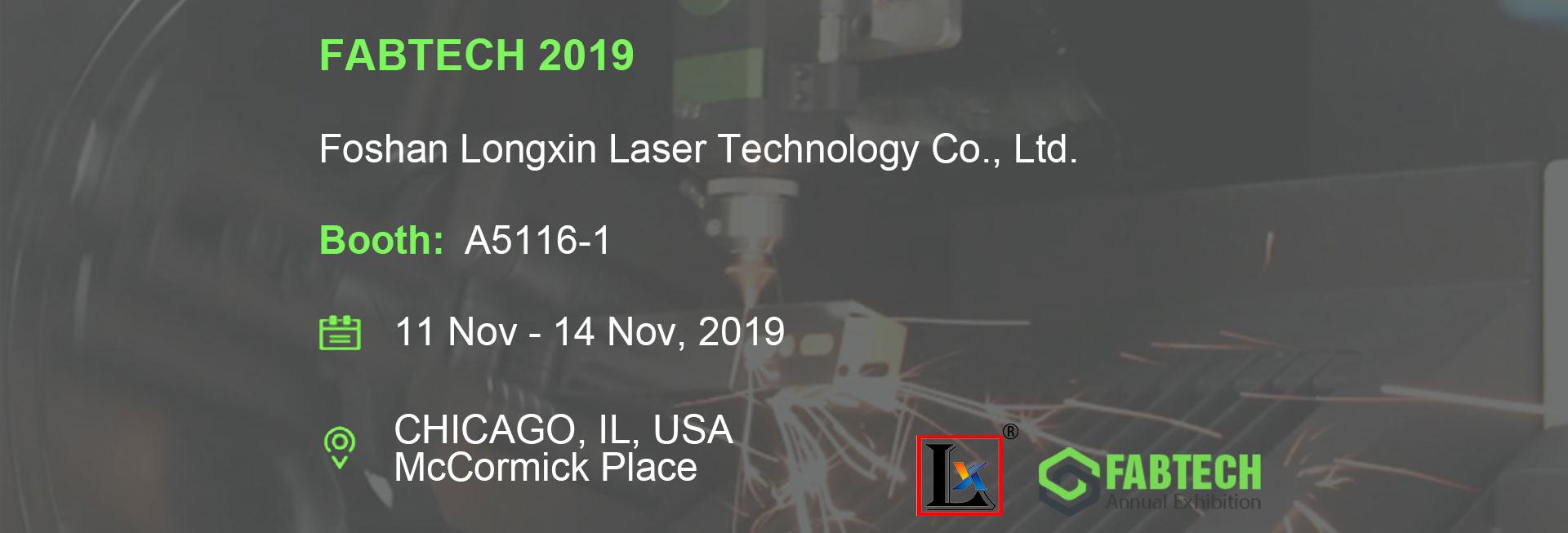 FABTECH 2019, Chicago, USA