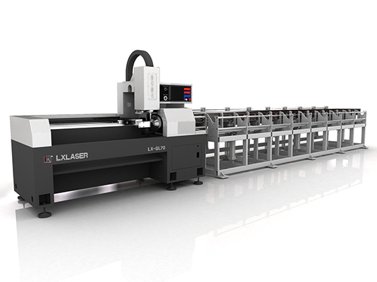 Fully Automatic Laser Tube Cutting Machine
