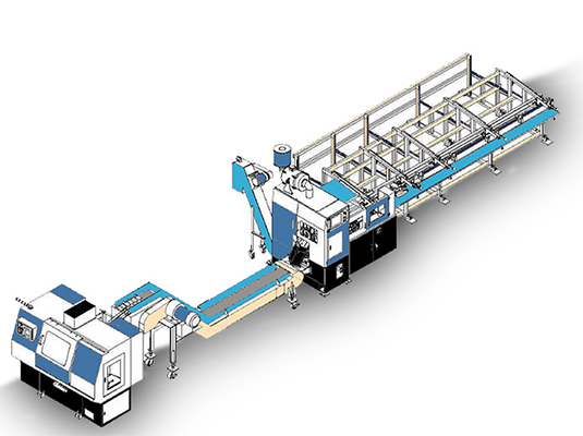 Laser Tube Cutting & Processing Line
