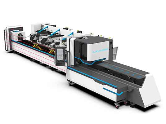 Multi Functional Laser Tube Cutting Machine