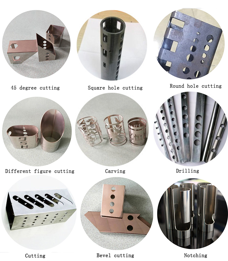 Precision CNC laser pipe cutting  Processing Services