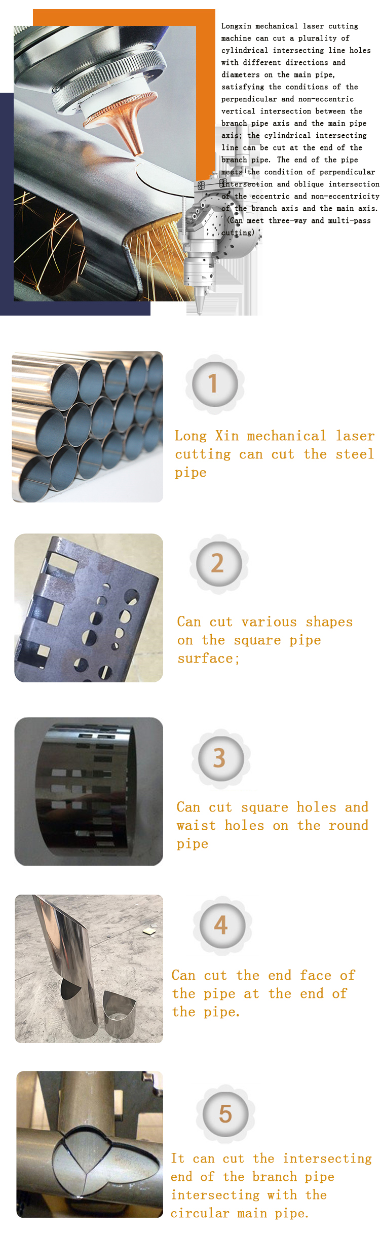 Pipe Laser Cutting Machine