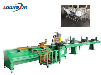 fully Automatic pipe cutting machine for hospital beds