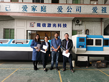 LX Laser Tube & Pipe Cutting Machine for stainless steel furniture