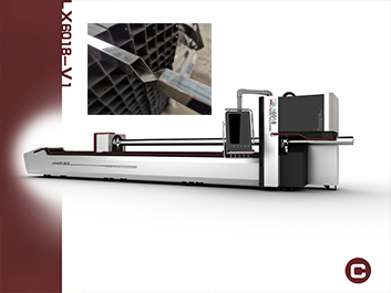 Customer from Kosovo chose our newest tube & pipe laser cutting machine