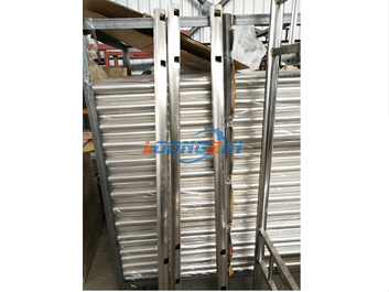 Stainless steel bed made by our newly laser tube & pipe cutting machine
