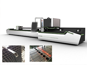 tube and pipe laser cutting machine for curtain rod