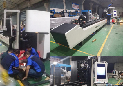 Longxin laser technology preparation for the 13th South China Stainless Steel Metals Exhibition