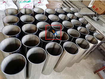Longxin Laser tube pipe cutting machine for  bollard column