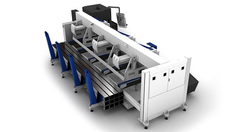 CNC Laser Pipe Cutting Machine
