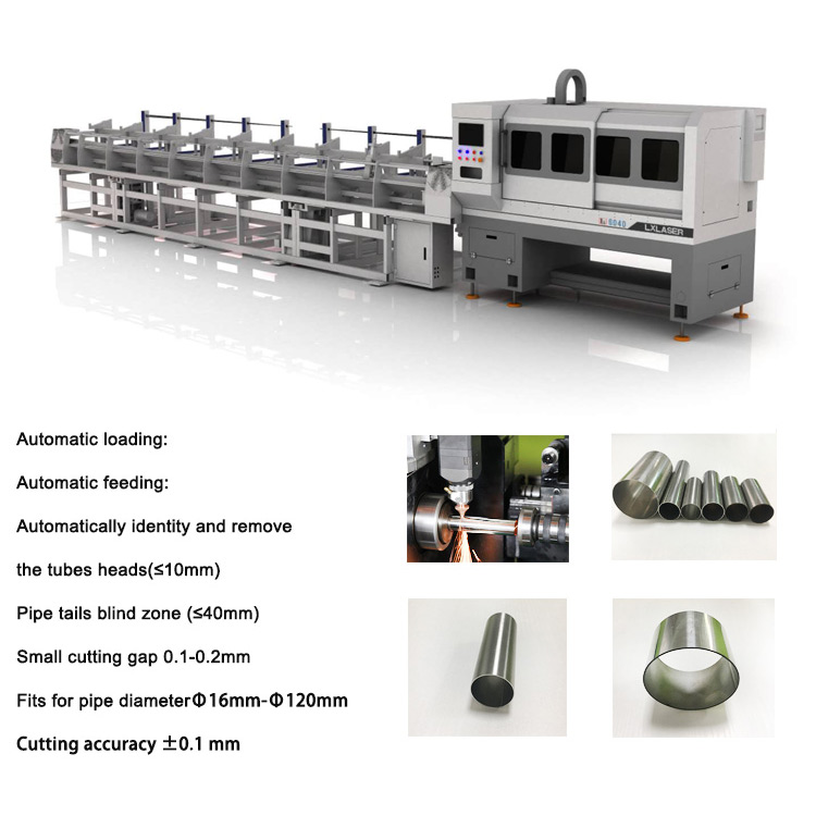 Laser Pipe Cutting and Beveling Machine Production Line
