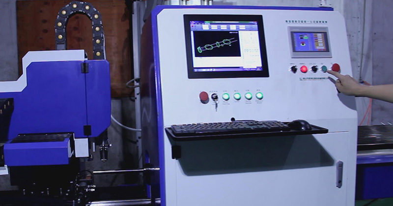 CNC Laser Tube Notch Cutting Machine