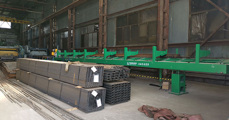 Scaffolding manufacturing in Russia with Longxin pipe cutting machine