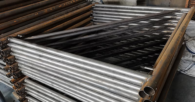 Longxin pipe cutting machine in Russia customer's factory