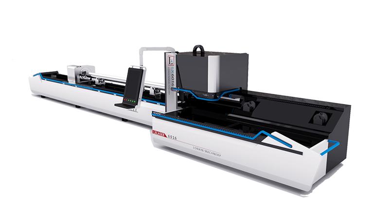 Water Heater Exhaust Pipe Laser Cutting Machine