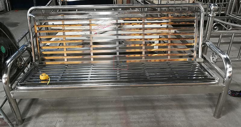 Customer factory which produces hospital beds