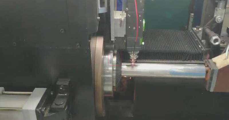 Stainless steel pipe fittings manufacturing with laser cutting machine