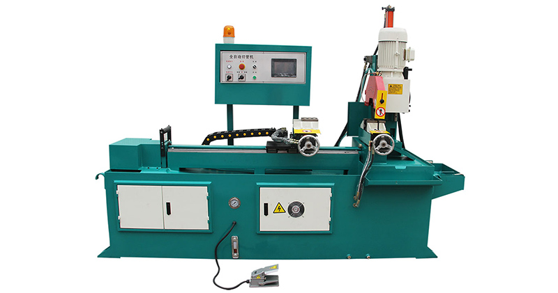 Automatic Brass Pipe Cutting Machine