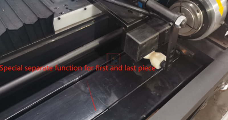 1500W fully automatic laser tube cutting machine for Indian customer