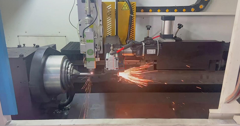 Household supplies manufacturing with professional laser pipe cutting machine