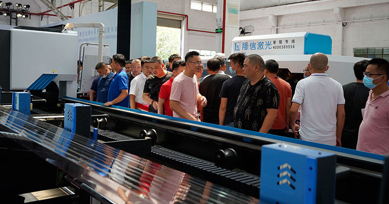 Longxin Laser launches the world's premiere for new K series laser pipe cutting machines