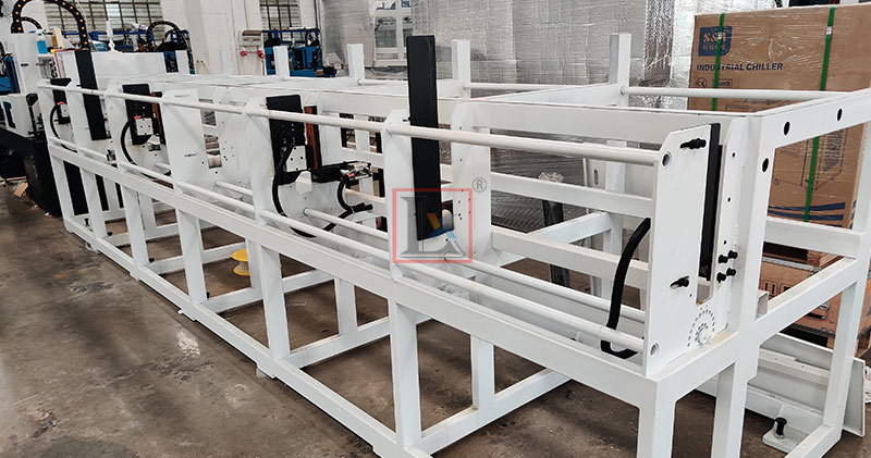 LX Laser high speed laser pipe cutting machines for German heating exchanger projects