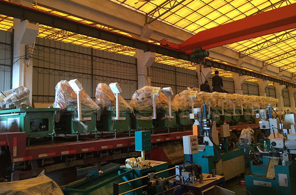 Pipe Cutting Machine Factory Workshop