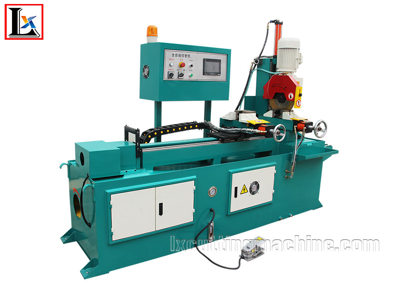 LX355CNC(R&L Clamp) Sawing Machine With End Piece Pull Out Function