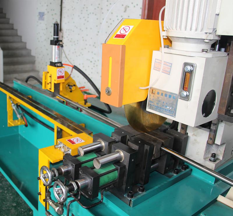 High Speed Steel Pipe Cutting Machine Auto Load Cutting
