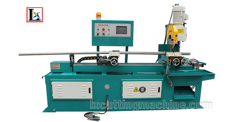 LX355CNC Sawing Machine With End Piece Pull Out Function