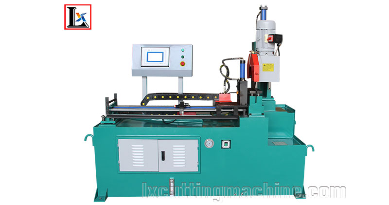 LX330NC steel pipe sawing machine