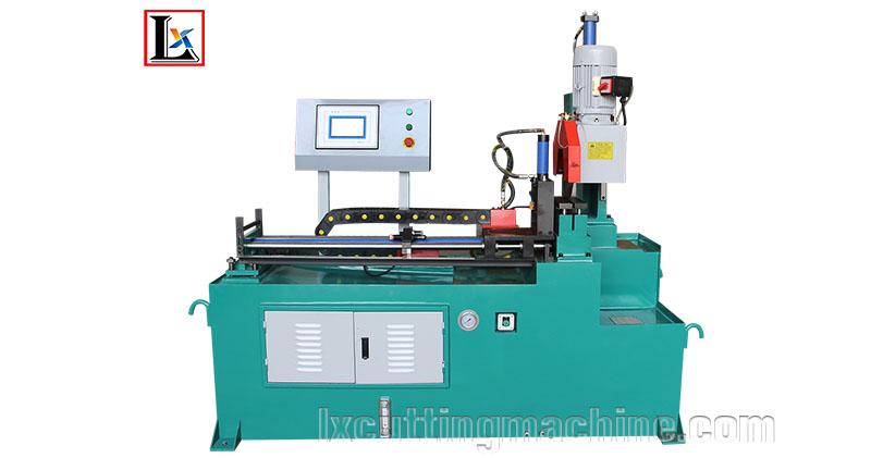 LX355NC hydraulic pipe cutting machine