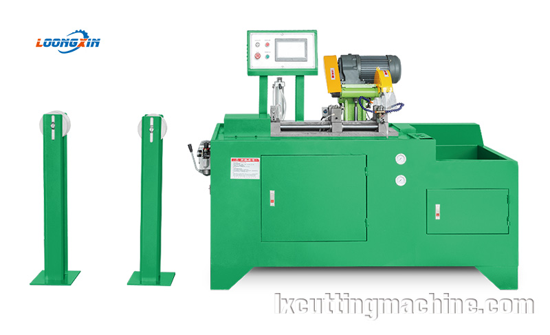 Tungsten steel saw machine