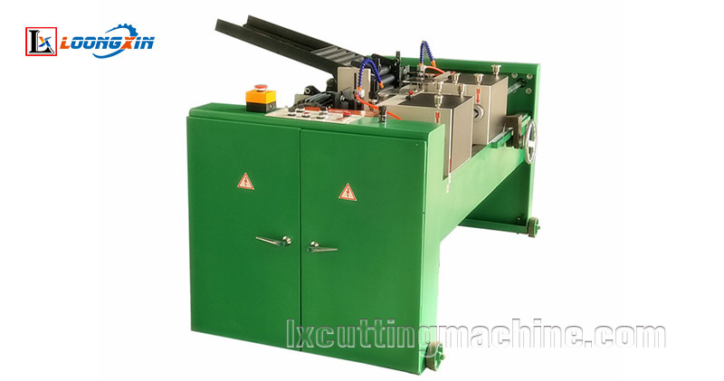 automatic tube end chamfering machine