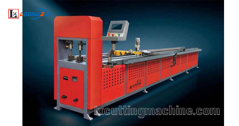 CNC Full Automatic Hole Punching Machine, Pipe Hole Punching Machine