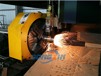 Laser tube pipe cutting machine for submersible pump
