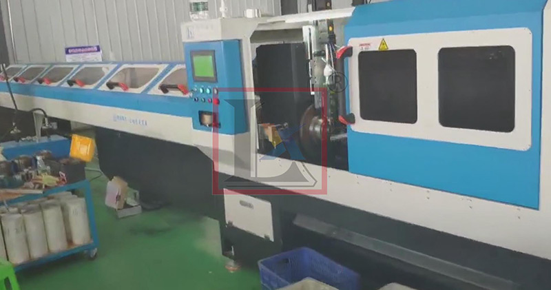 Stainless steel clad tubes manufacturing with laser cutting machine