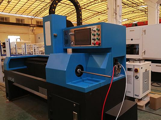 Semi-Automatic Laser Tube Cutting Machine