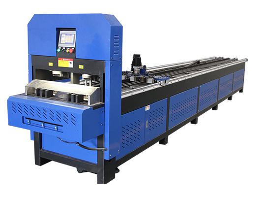 CNC Full Automatic Pipe Hole Punching Machine LX-125-2