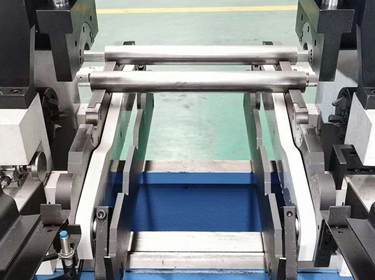 CNC Double end pipe rod chamfering machine